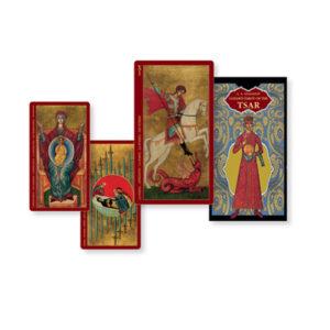 golden tarot tsar tarot deck