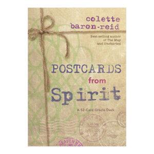 postcards spirit oracle cards