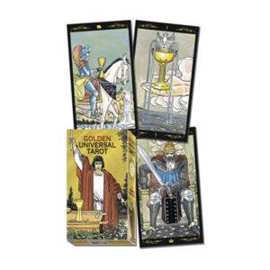 golden universal tarot decks