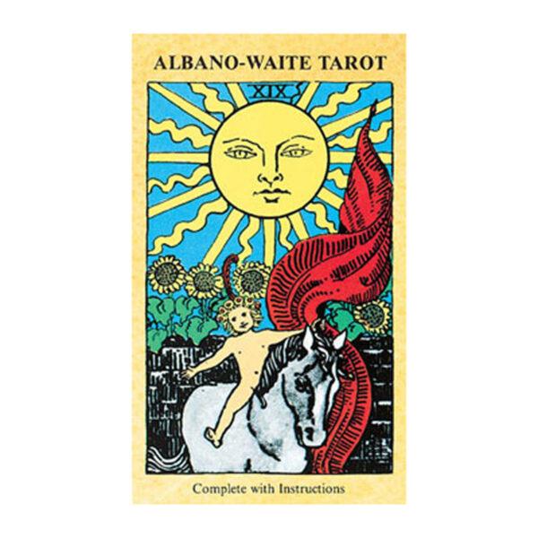 albano waite tarot decks