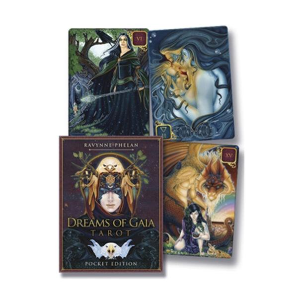 dreams of gaia pocket tarot deck