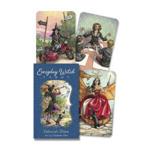 everyday witch mini tarot deck