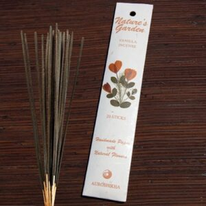 incense natures garden vanilla